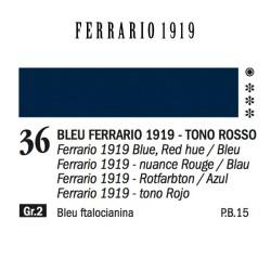 036 - Ferrario Olio 1919 Bleu ferrario 1919 (tono rosso)