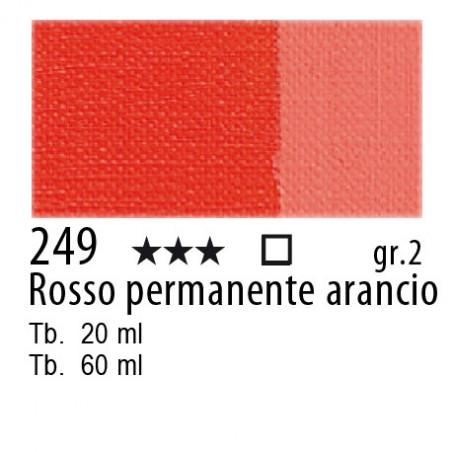 249 - Maimeri Olio Classico Rosso permanente arancio