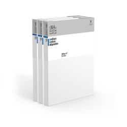 CM.40X40 - Set 3 Telai telati Winsor & Newton 100% cotone 350 gr/mq, spessore doppio