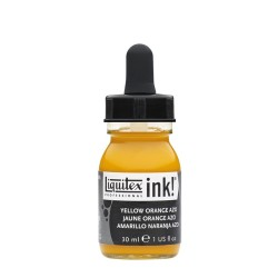 414 - Liquitex Acrylic Ink Giallo arancio azo
