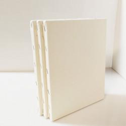 CM.50X70 - Set 3 Telai telati misto cotone 300 gr/mq, spessore normale, made in Italy