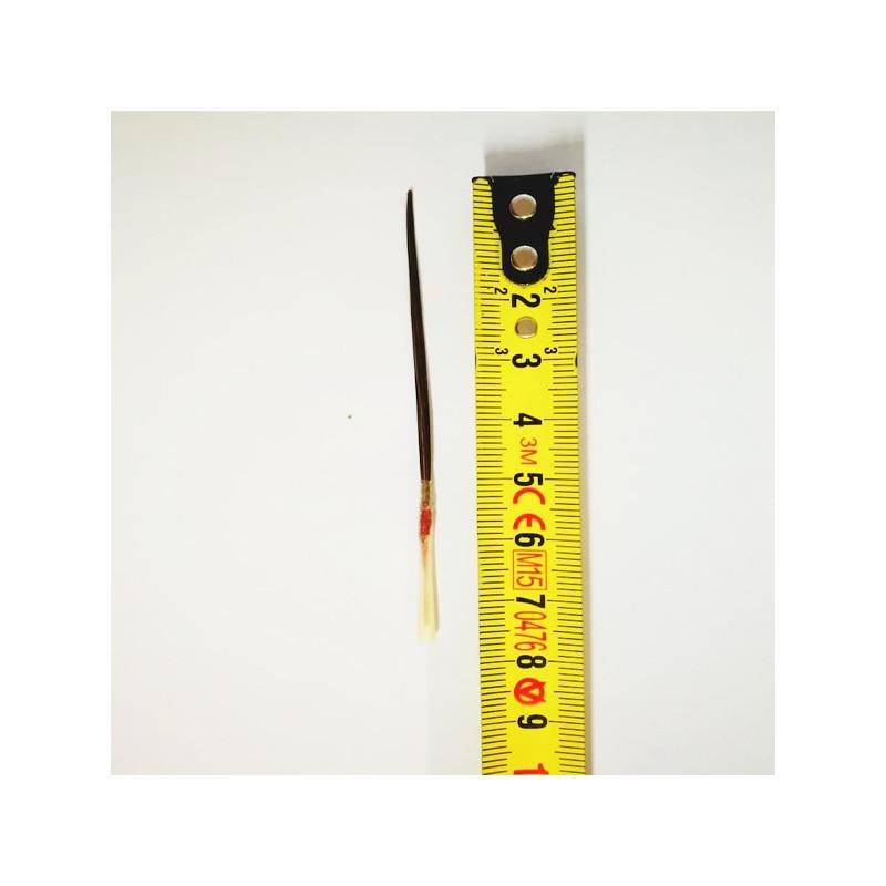 Da Vinci Serie n.0108 pennello in pelo di bue extralungo per filettare (tiralinee) n.0