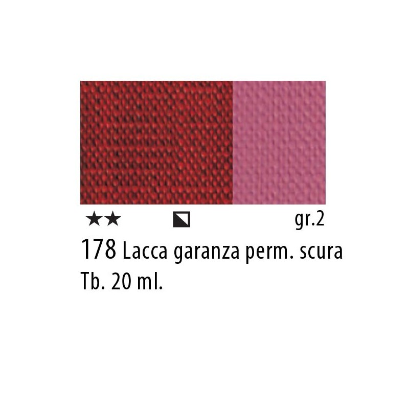 178 - Maimeri Restauro Lacca Garanza perm. scura