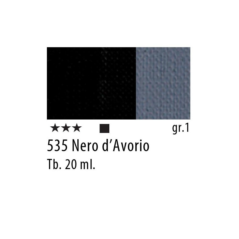 535 - Maimeri Restauro Nero d'Avorio