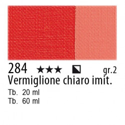 284 - Maimeri Olio Classico Vermiglione chiaro imit.