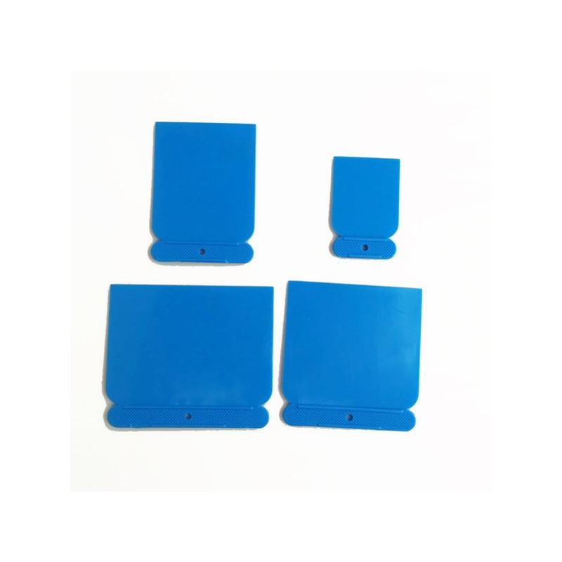 Set  4 spatole in plastica per spalmare
