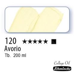 120 – Schmincke Olio College Avorio