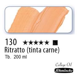 130 - Schmincke Olio College Ritratto