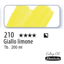 210 – Schmincke Olio College Giallo limone
