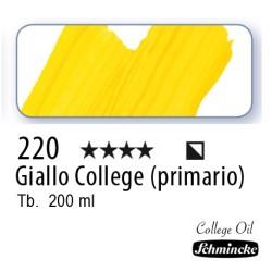 220 – Schmincke Olio College Giallo College
