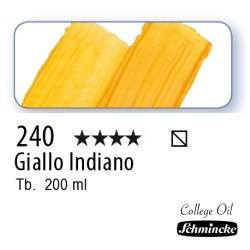 240 - Schmincke Olio College Giallo Indiano