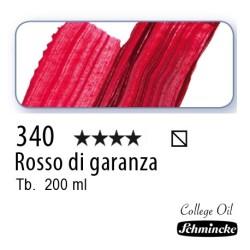 340 – Schmincke Olio College Rosso di garanza