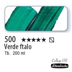 500 – Schmincke Olio College Verde ftalo