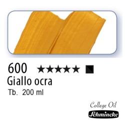 600 – Schmincke Olio College Ocra gialla