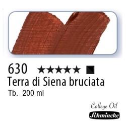 630 – Schmincke Olio College Terra di Siena bruciata