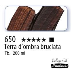 650 – Schmincke Olio College Terra d'ombra bruciata