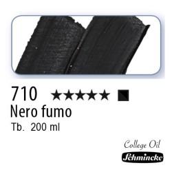 710 – Schmincke Olio College Nero fumo