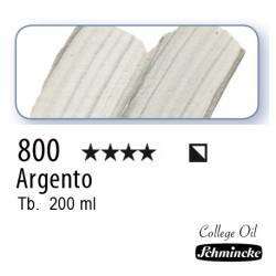 800 – Schmincke Olio College Argento