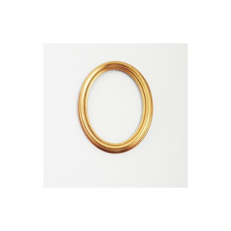 Cornice in legno ovale cm 7x9