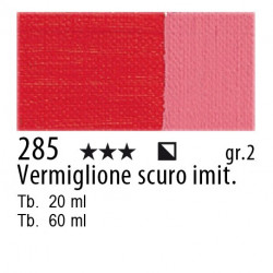 285 - Maimeri Olio Classico Vermiglione scuro imit.