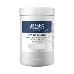Fondo Gesso Bianco Lefranc, imprimitura universale pronta all'uso