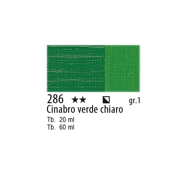 Maimeri Olio Classico Cinabro verde chiaro