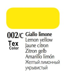 002/C - Tex Color Giallo Limone 50ml
