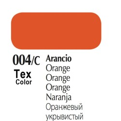 004/C - Tex Color Arancio 50ml