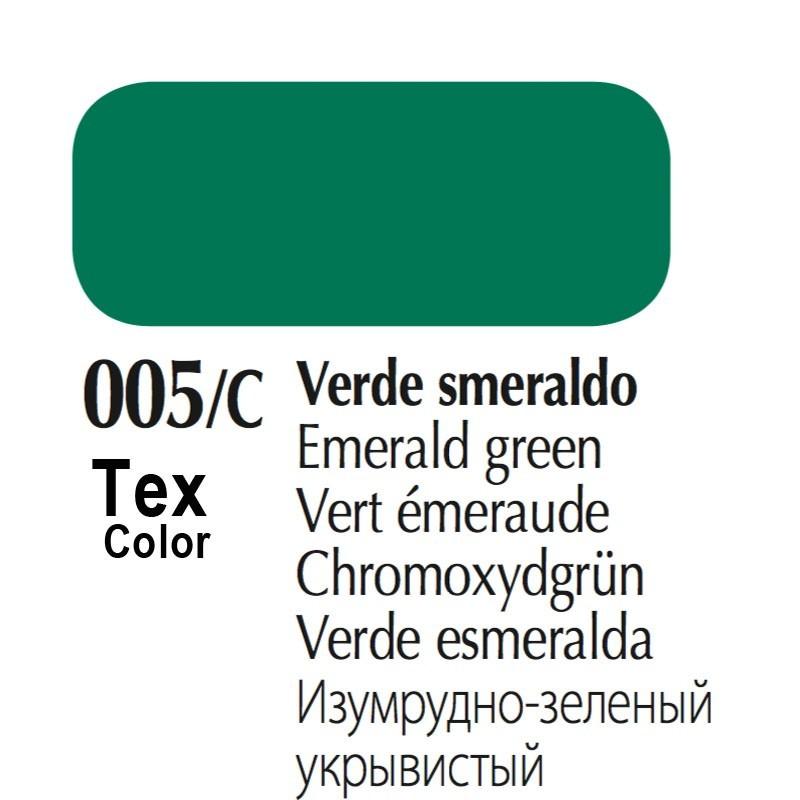 005/C - Tex Color Verde Smeraldo 50ml