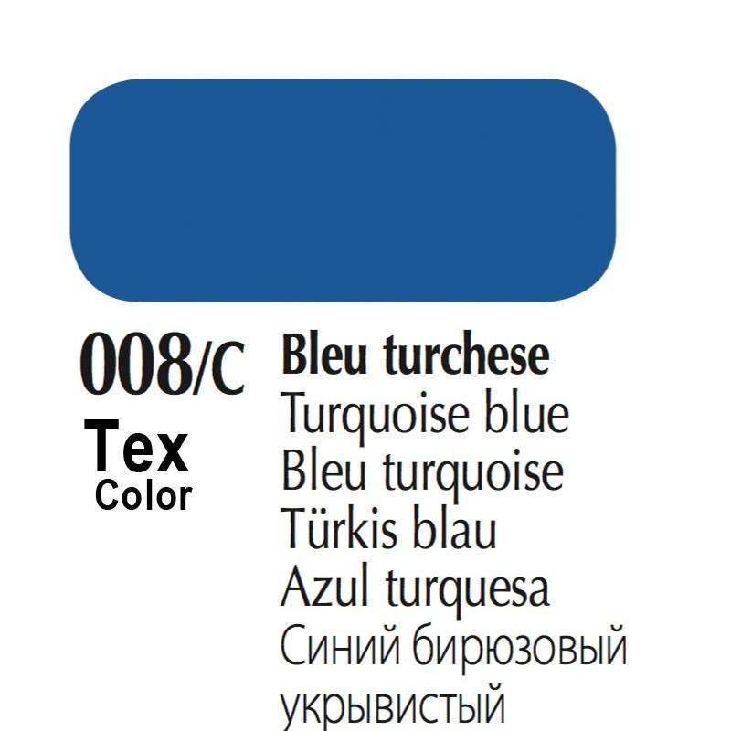 008/C - Tex Color Bleu Turchese 50ml