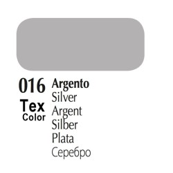 016 - Tex Color Argento 50ml