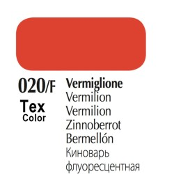 020/F - Tex Color Vermiglione Fluorescente 50ml