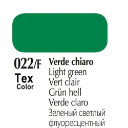 022/F - Tex Color Verde Chiaro Fluorescente 50ml
