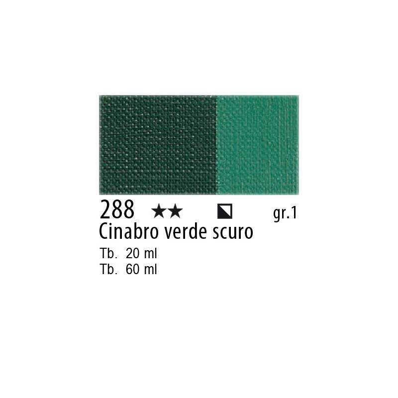 Maimeri Olio Classico Cinabro verde scuro