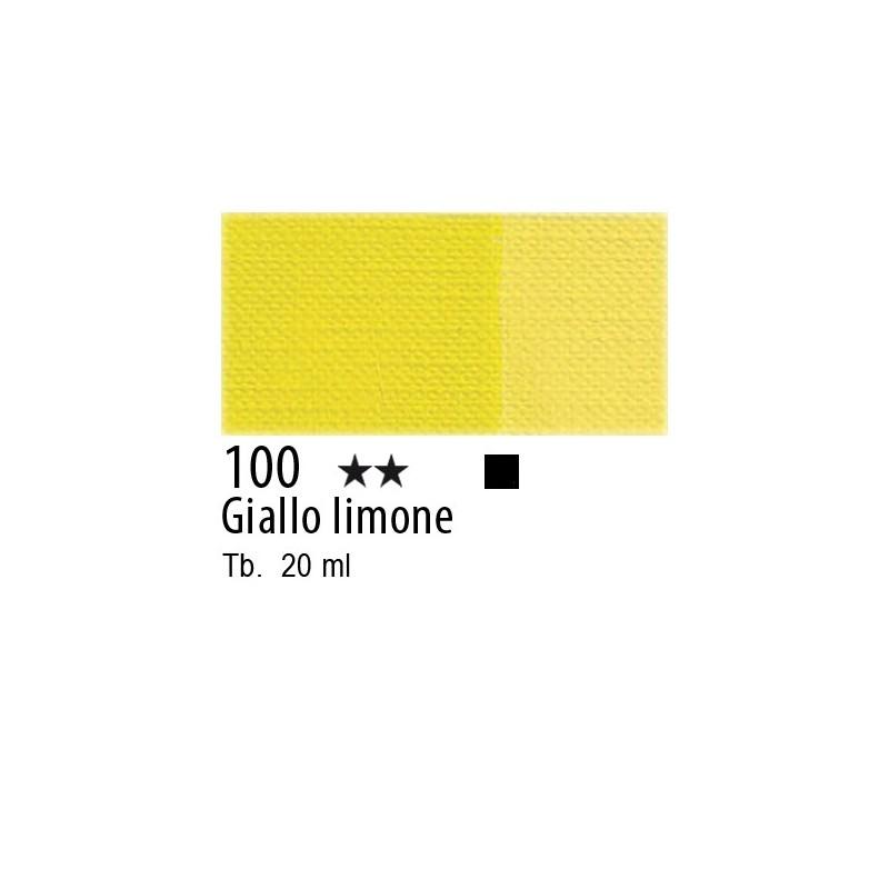 100 - Maimeri Tempera Fine Giallo limone