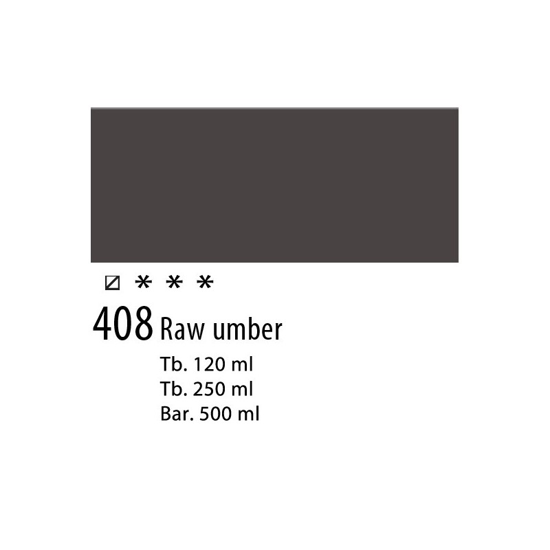 408 - Talens Amsterdam Acrylic Terra d'ombra naturale