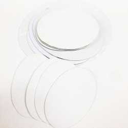 CM.10X15-Pannello telato ovale