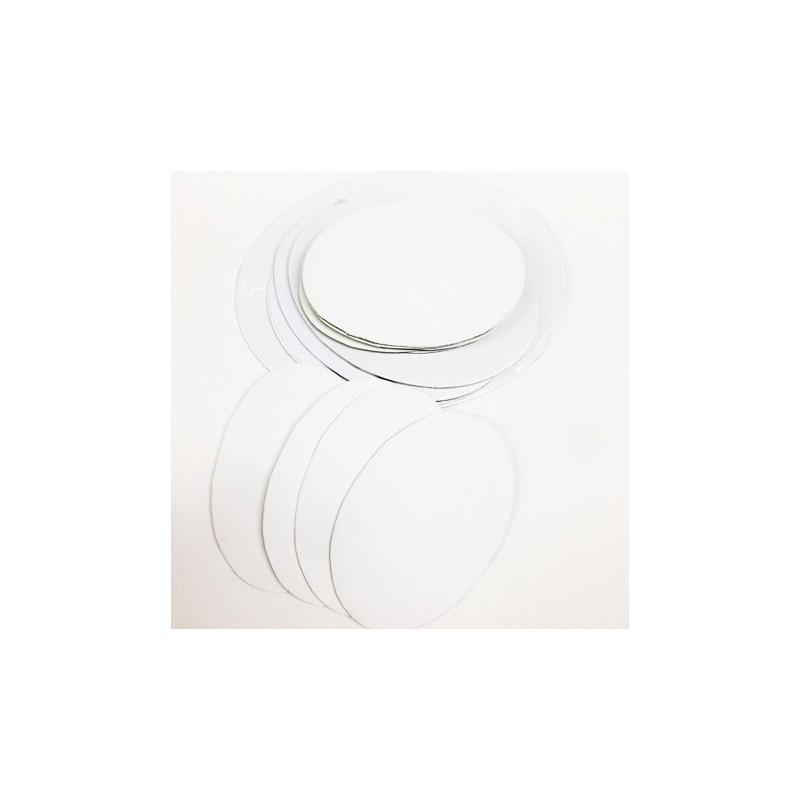 CM.18X24-Pannello telato ovale