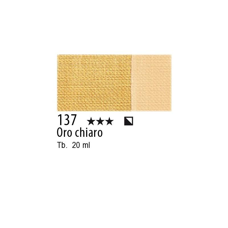 137 - Maimeri Tempera Fine Oro chiaro