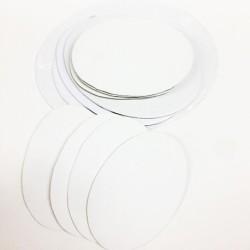CM.40X50-Pannello telato ovale