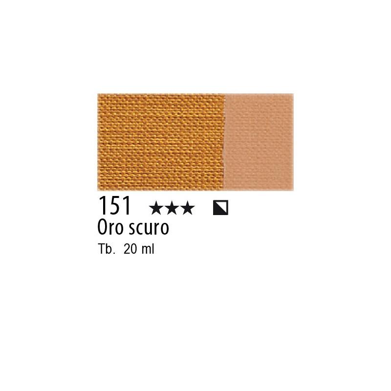 151 - Maimeri Tempera Fine Oro scuro