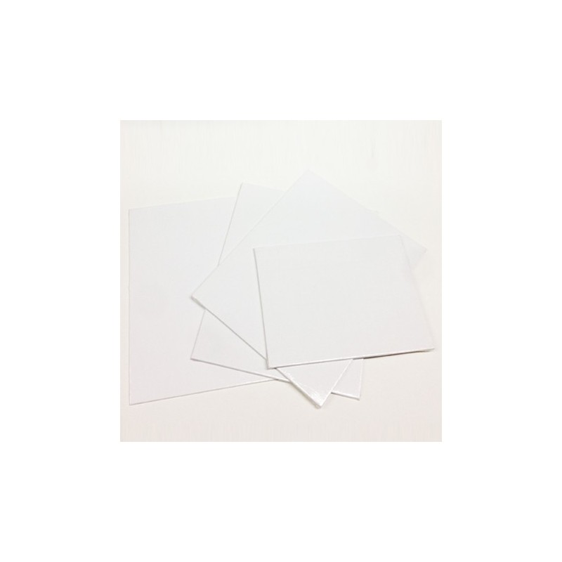 CM.10X10-Cartone telato rettangolare/quadrato