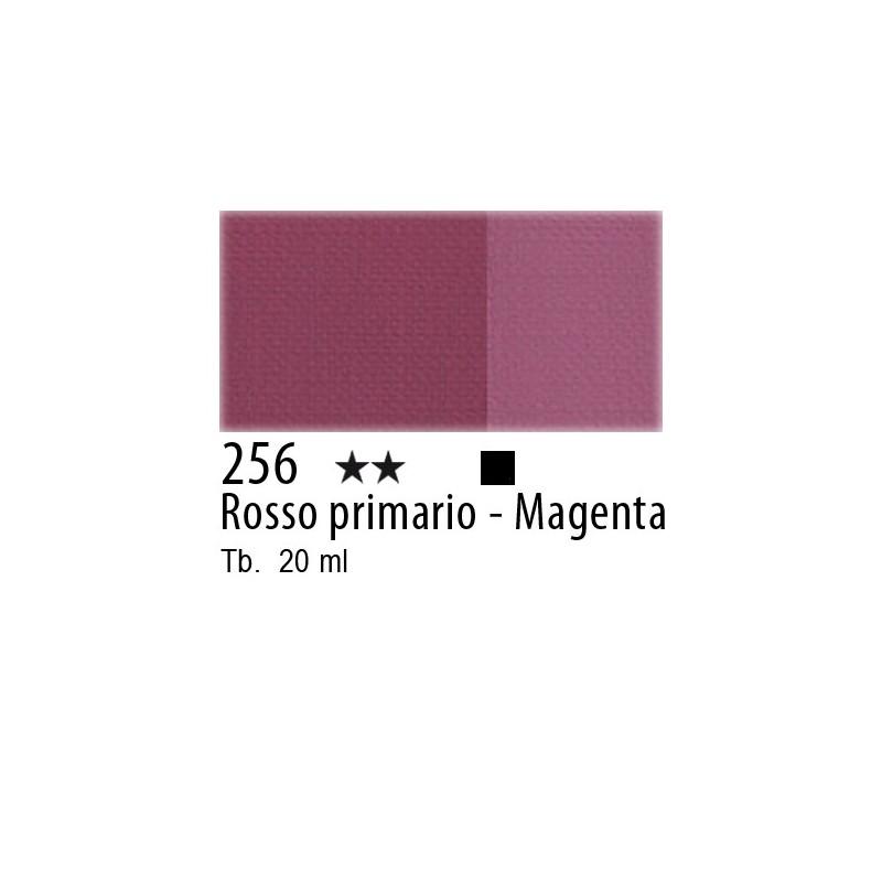 256 - Maimeri Tempera Fine Rosso primario - Magenta