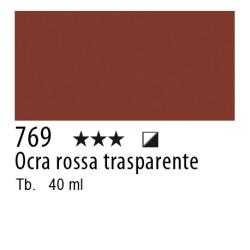 769 - Lefranc Olio Fine Ocra rossa trasparente