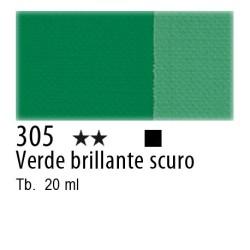305 - Maimeri Tempera Fine Verde brillante scuro