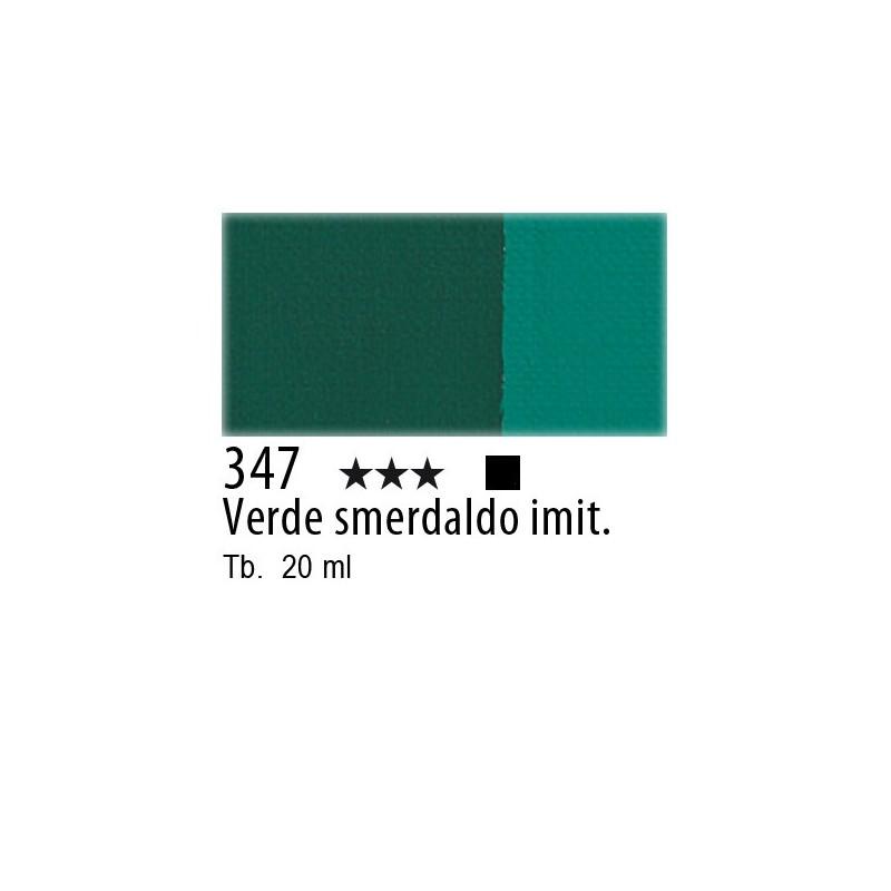 347 - Maimeri Tempera Fine Verde smeraldo imit.