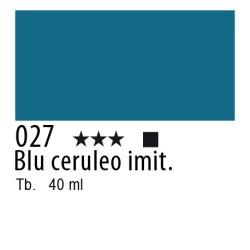 027 - Lefranc Olio Fine Blu ceruleo imit