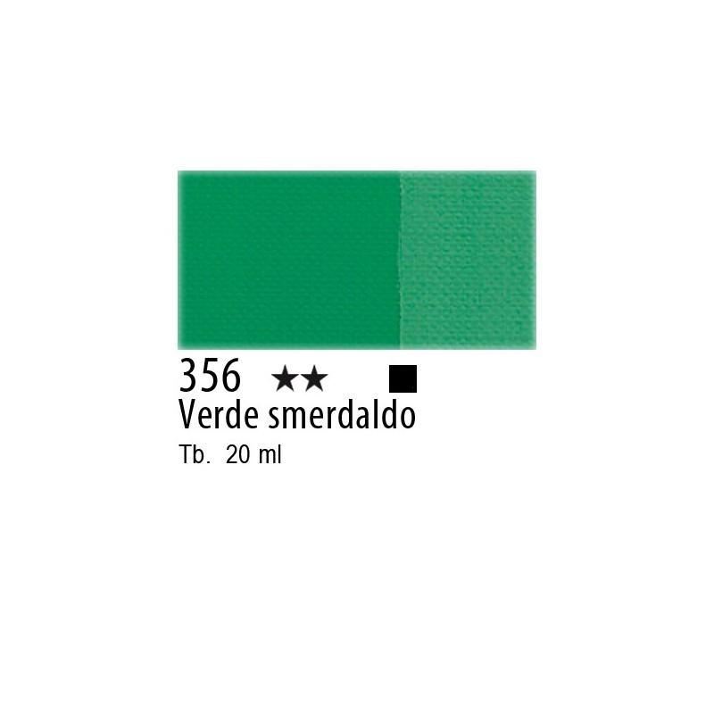 356 - Maimeri Tempera Fine Verde smeraldo (P. Veronese)