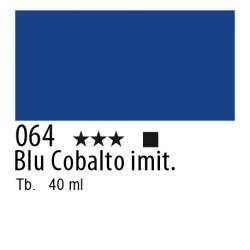 064 - Lefranc Olio Fine Blu cobalto imit