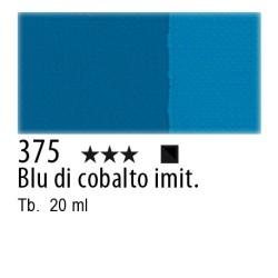 375 - Maimeri Tempera Fine Blu di cobalto imit.